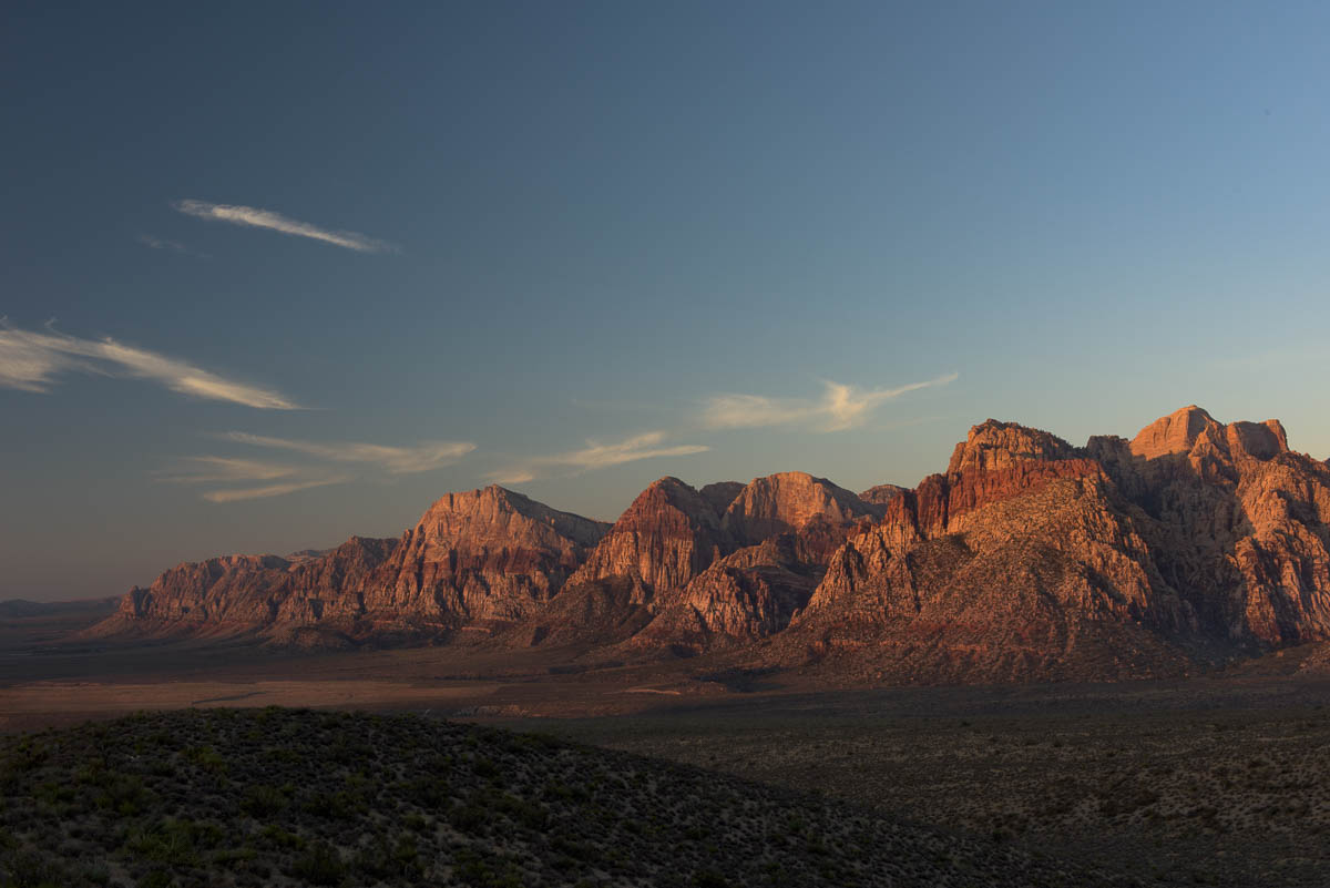 Sunrise at Red Rock Canyon